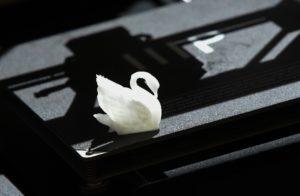 3d printed swan